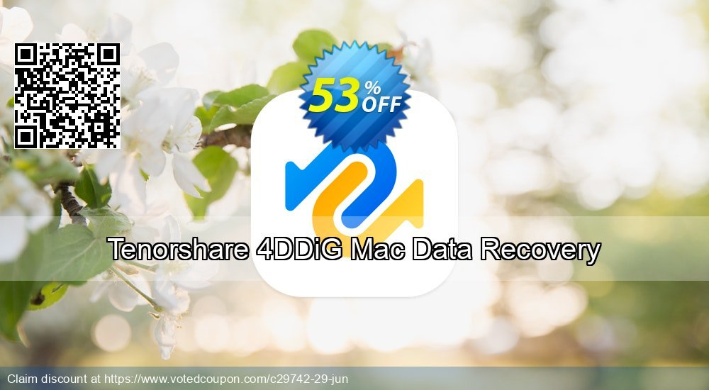 Get 10% OFF Tenorshare Data Recovery for Mac Coupon