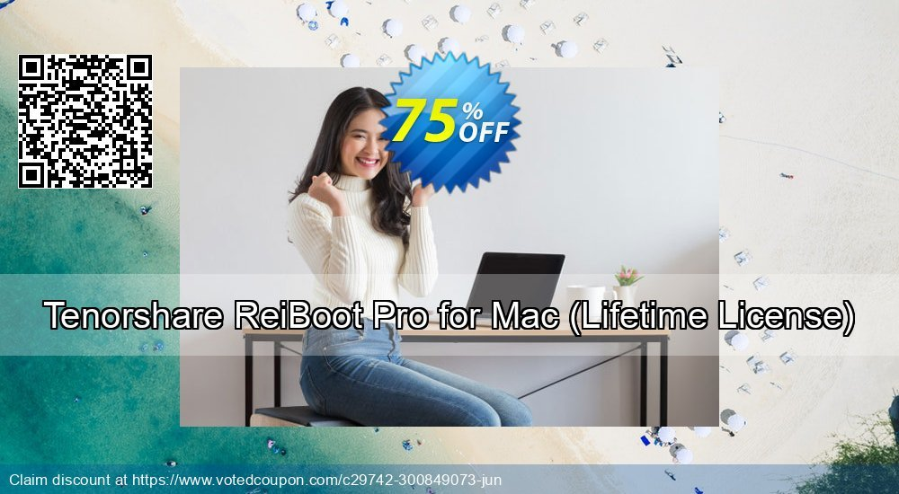Get 75% OFF Tenorshare ReiBoot Pro for Mac, Lifetime License Coupon
