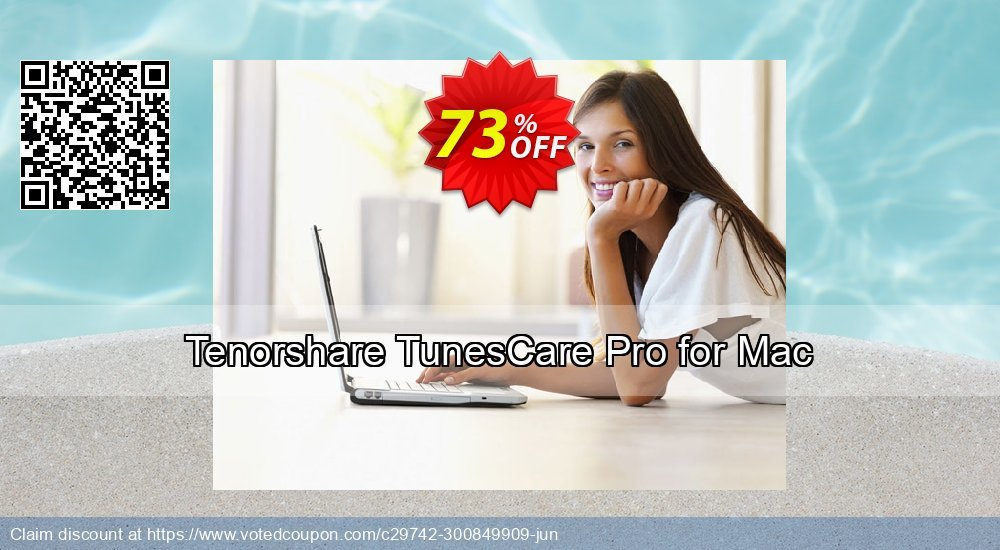 Get 20% OFF Tenorshare TunesCare Pro for Mac - 1 Year/1 Mac offering sales