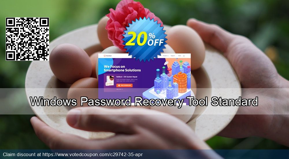 Get 10% OFF Windows Password Recovery Tool Standard sales