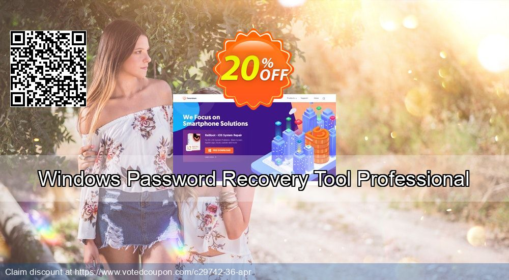 Get 19% OFF Windows Password Recovery Tool Professional Coupon