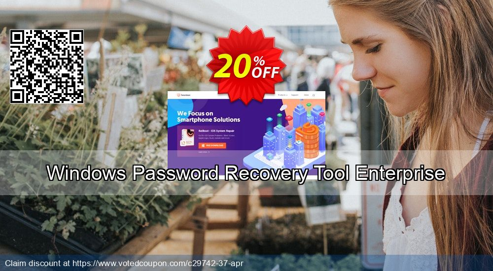 Get 19% OFF Windows Password Recovery Tool Enterprise Coupon