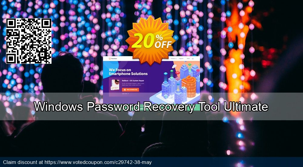 Get 18% OFF Windows Password Recovery Tool Ultimate Coupon