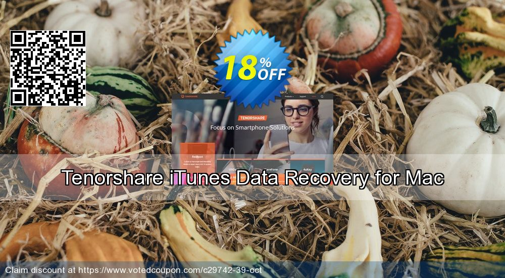 Get 22% OFF Tenorshare iTunes Data Recovery for Mac-Family Pack Coupon