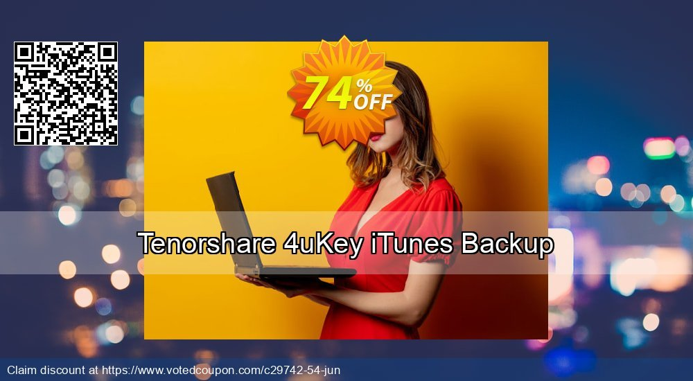 Get 21% OFF Tenorshare iPhone Backup Unlocker Professional Coupon
