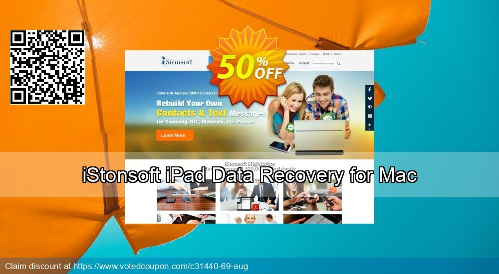 Get 60% OFF iStonsoft iPad Data Recovery for Mac Coupon