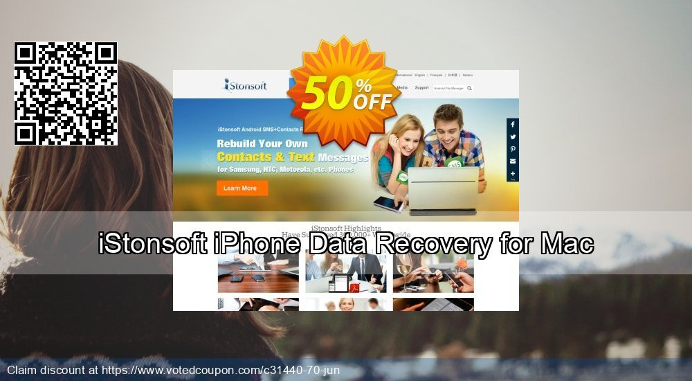 Get 60% OFF iStonsoft iPhone Data Recovery for Mac Coupon