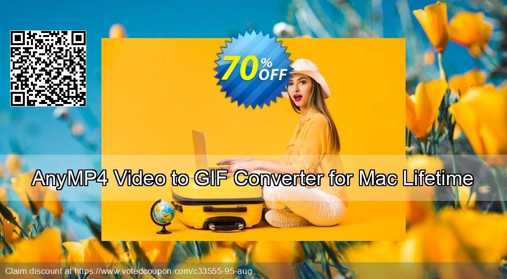 Get 87% OFF AnyMP4 Video to GIF Converter for Mac Lifetime offering sales