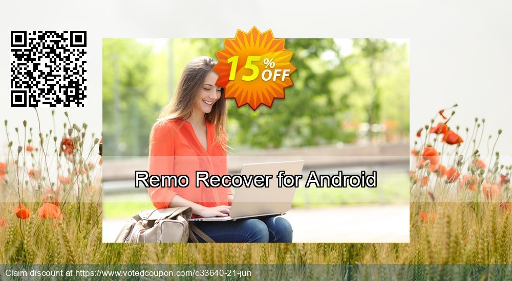 Get 15% OFF Remo Recover for Android sales