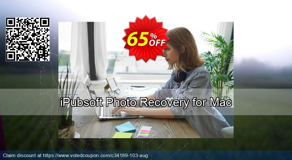 Get 67% OFF iPubsoft Photo Recovery for Mac Coupon