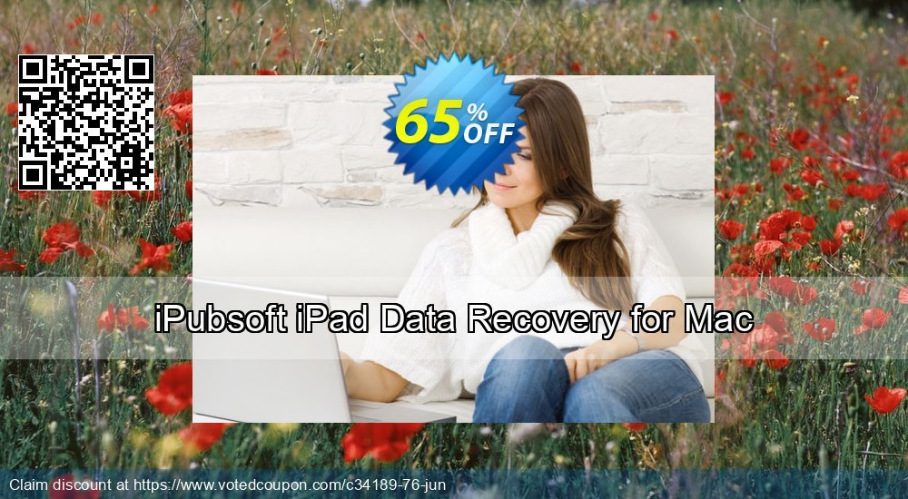 Get 65% OFF iPubsoft iPad Data Recovery for Mac Coupon