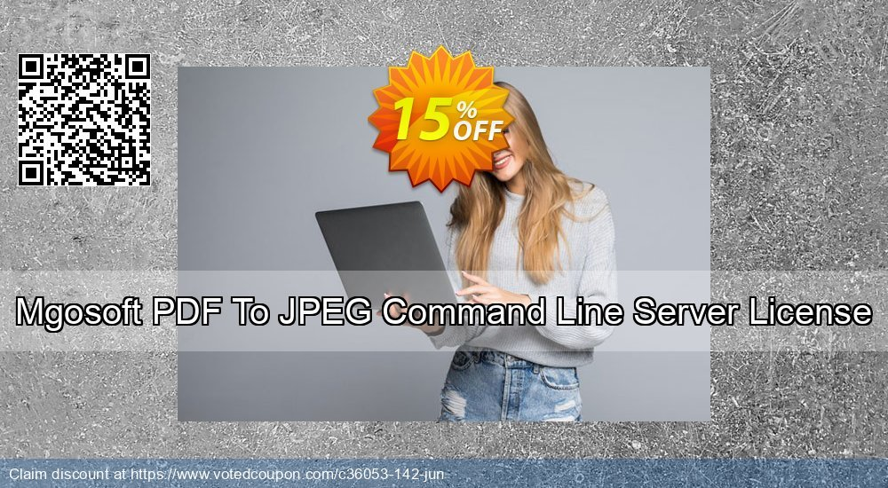 Get 15% OFF Mgosoft PDF To JPEG Command Line Server License discount