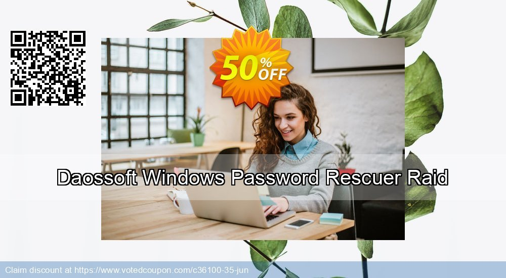 Get 30% OFF Daossoft Windows Password Rescuer Raid Coupon