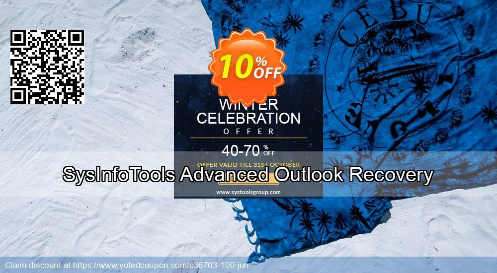Get 10% OFF SysInfoTools Advanced Outlook Recovery offering sales