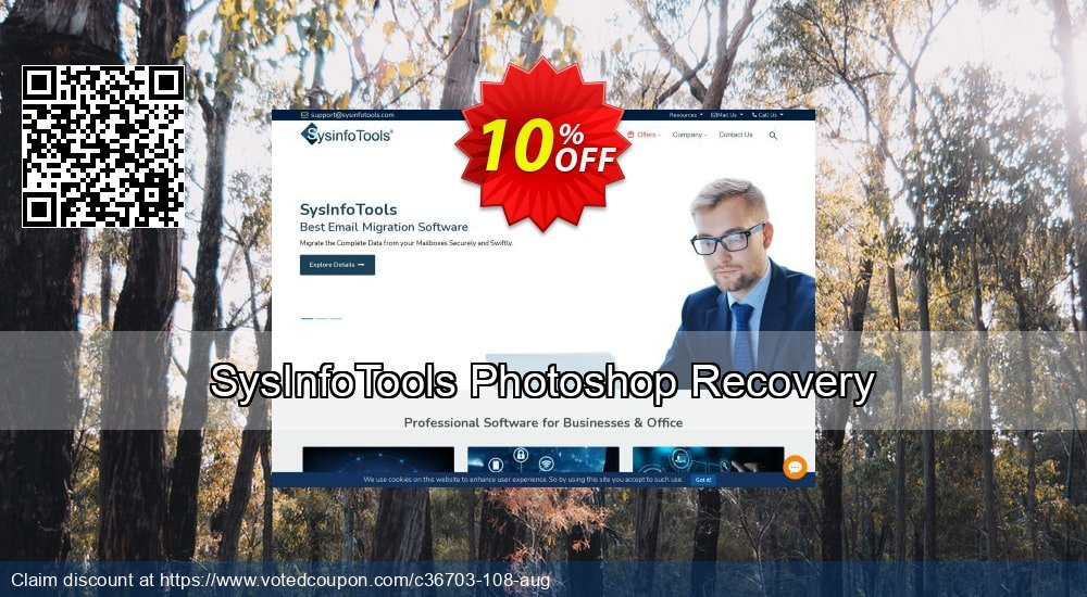 Get 10% OFF SysInfoTools Photoshop Recovery offering sales