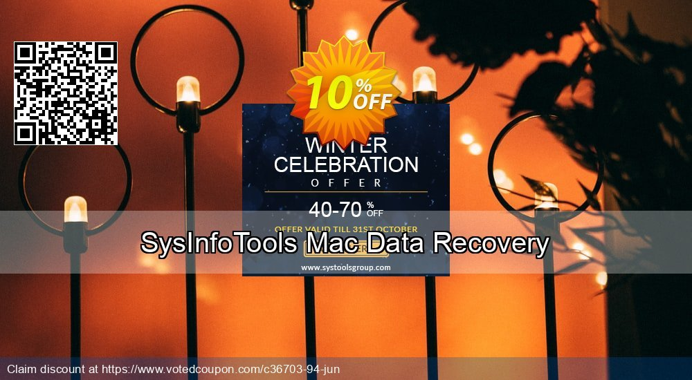 Get 10% OFF SysInfoTools Mac Data Recovery Coupon