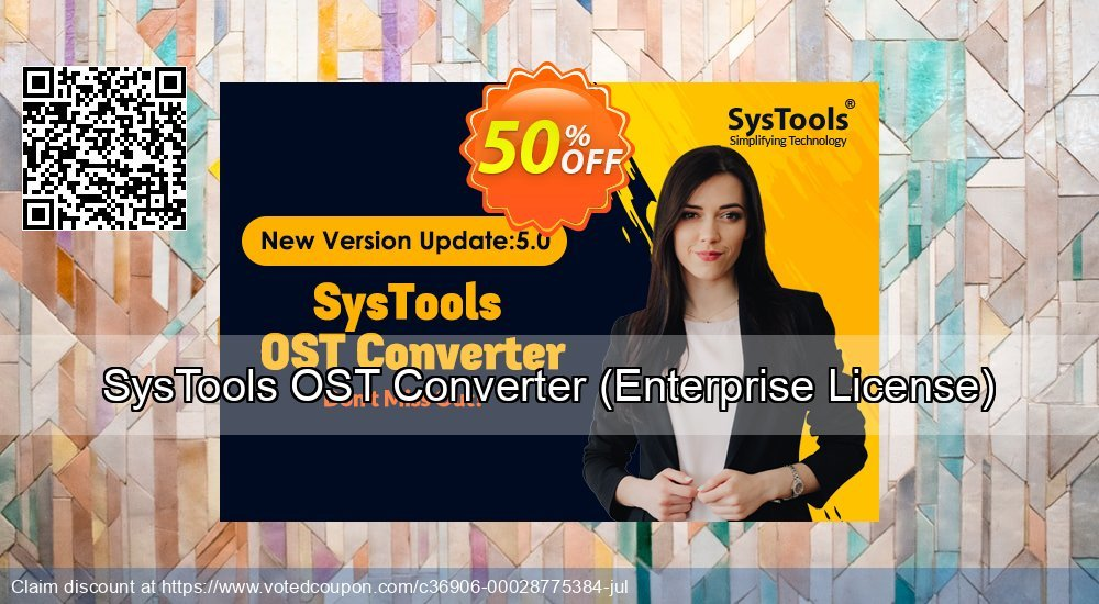 Get 25% OFF SysTools OST Converter, Enterprise License Coupon