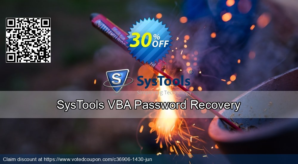 Get 35% OFF SysTools VBA Password Recovery Coupon