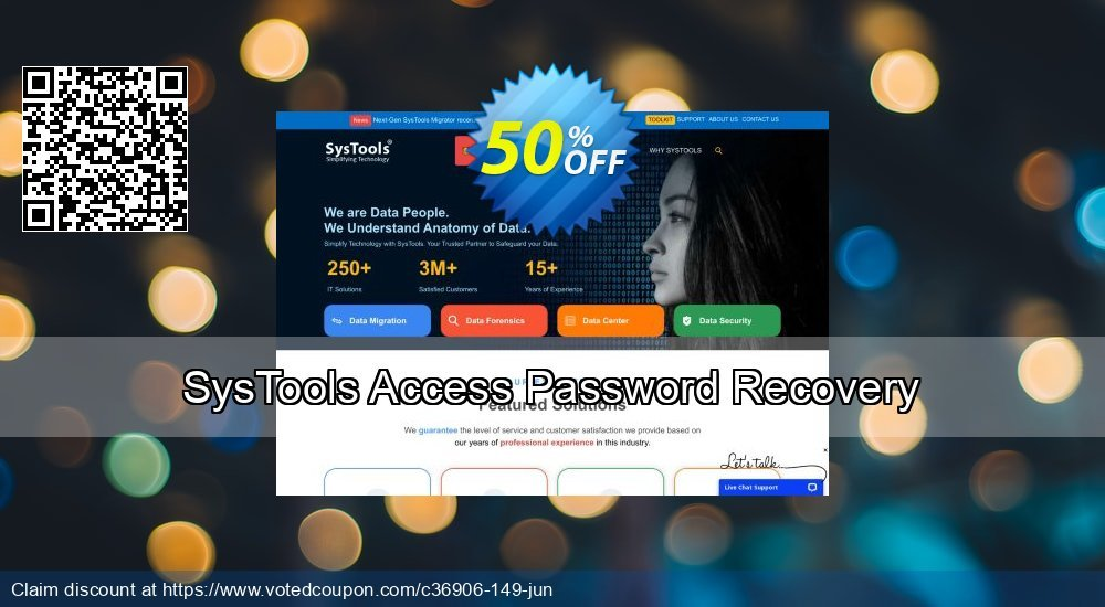 Get 26% OFF SysTools Access Password Recovery Coupon