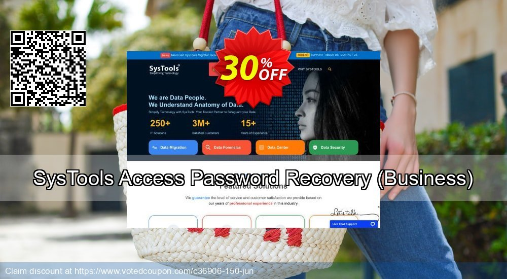 Get 26% OFF SysTools Access Password Recovery, Business Coupon