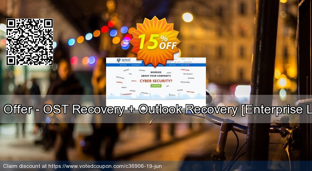 Get 15% OFF Bundle Offer - OST Recovery + Outlook Recovery [Enterprise License] offering deals