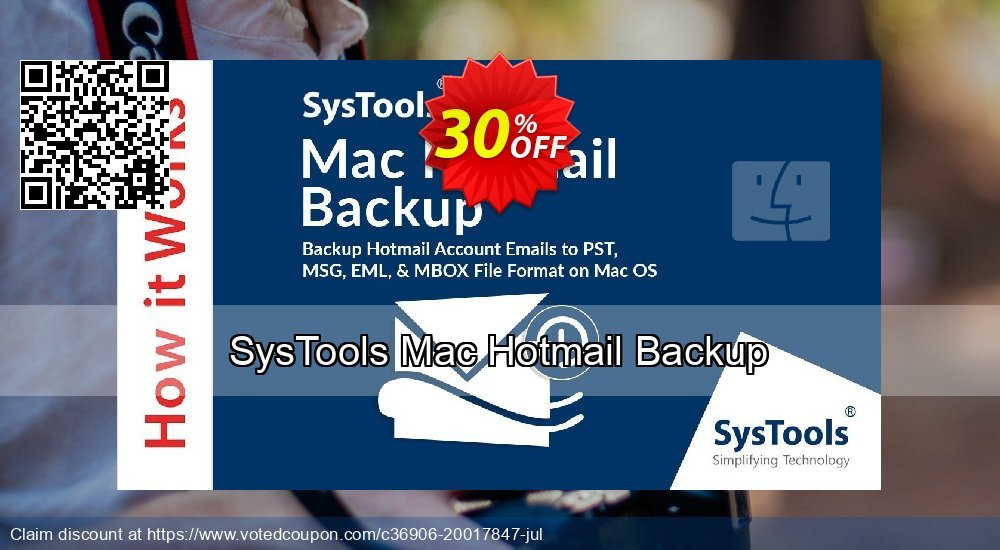 Get 30% OFF SysTools Mac Hotmail Backup Coupon