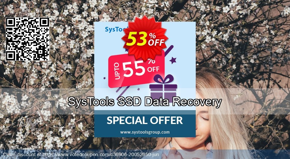 Get 20% OFF SysTools SSD Data Recovery sales