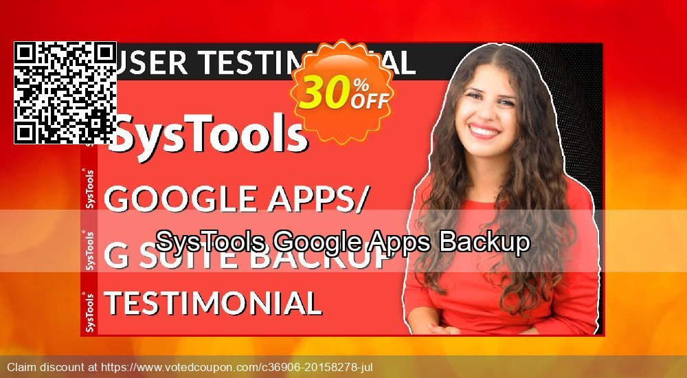 Get 25% OFF SysTools Google Apps Backup offering sales