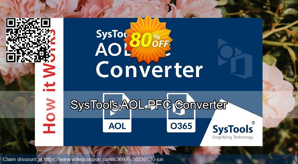 Get 81% OFF SysTools AOL PFC Converter Coupon