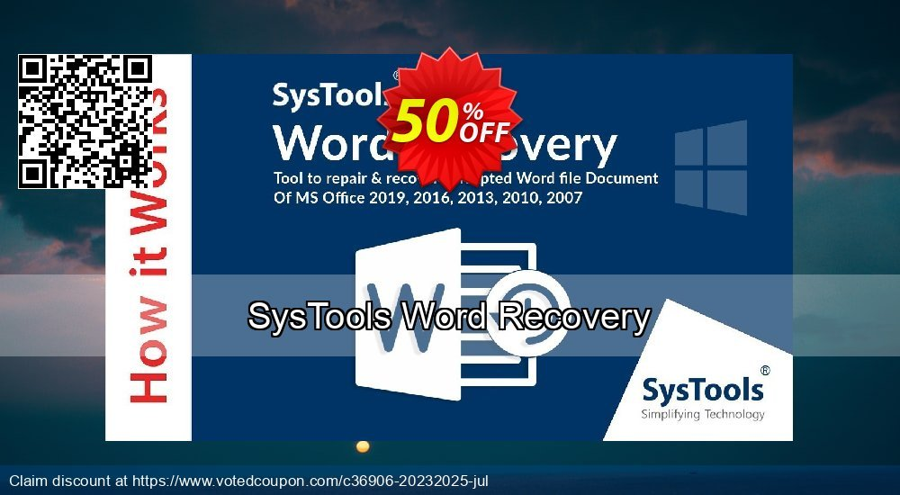 Get 51% OFF SysTools Word Recovery Coupon