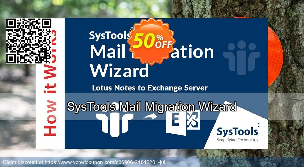 Get 50% OFF SysTools Mail Migration Wizard Coupon