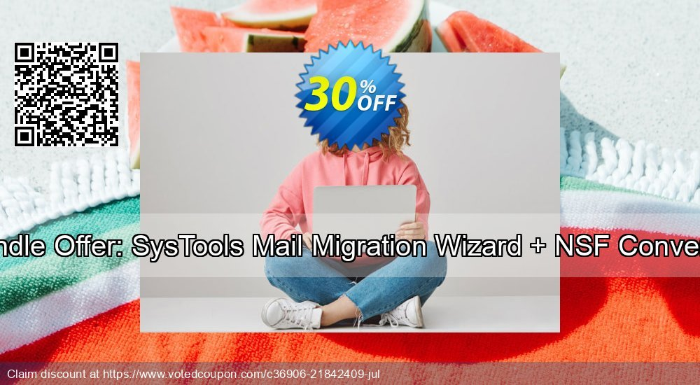 Get 38% OFF Bundle Offer: SysTools Mail Migration Wizard + NSF Converter Coupon