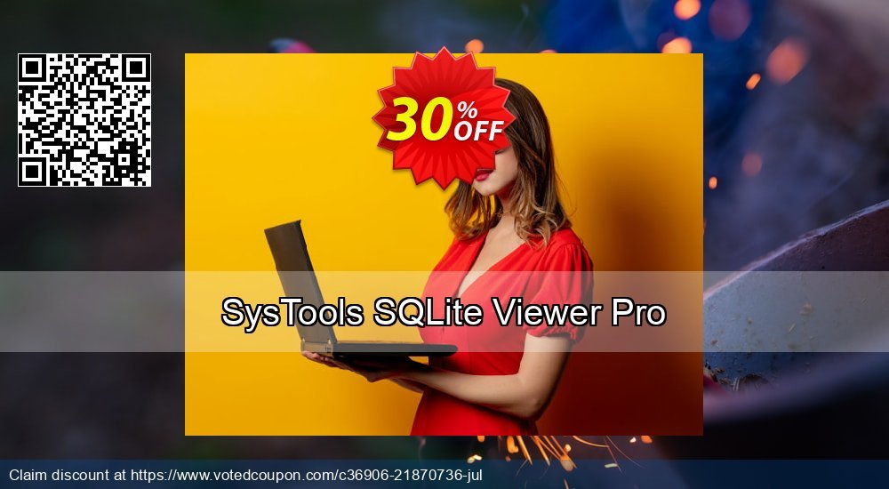 Get 10% OFF SysTools SQLite Viewer Pro offering sales