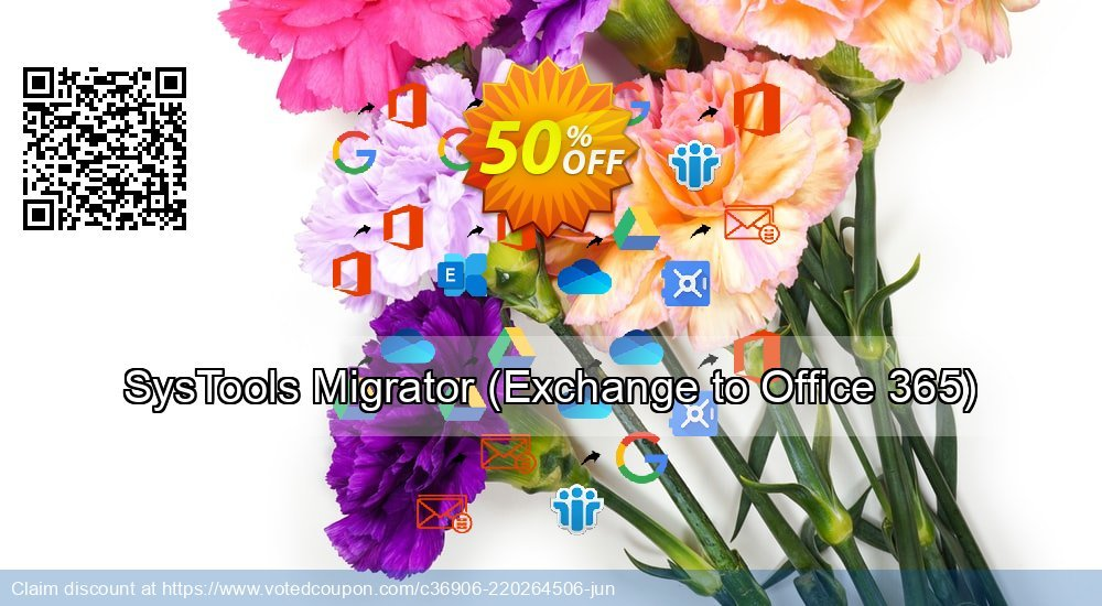 Get 52% OFF SysTools Migrator, Exchange to Office 365 Coupon