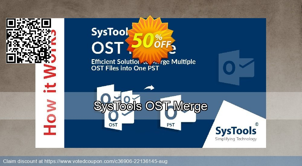Get 51% OFF SysTools OST Merge Coupon