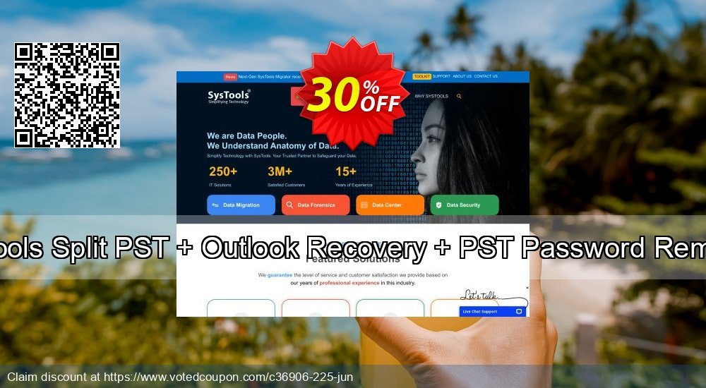 Get 20% OFF Systools Split PST + Outlook Recovery + PST Password Remover Coupon