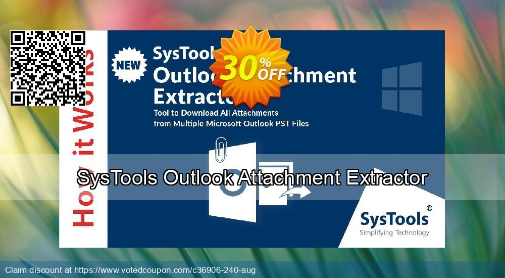 Get 20% OFF SysTools Outlook Attachment Extractor Coupon