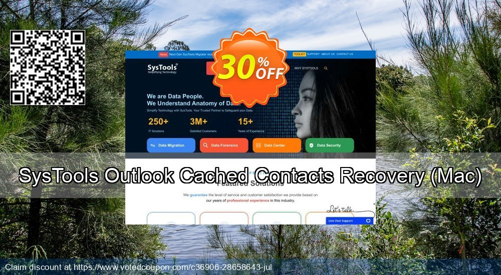 Get 20% OFF SysTools Outlook Cached Contacts Recovery, Mac Coupon