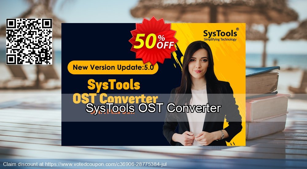 Get 26% OFF SysTools OST Converter Coupon