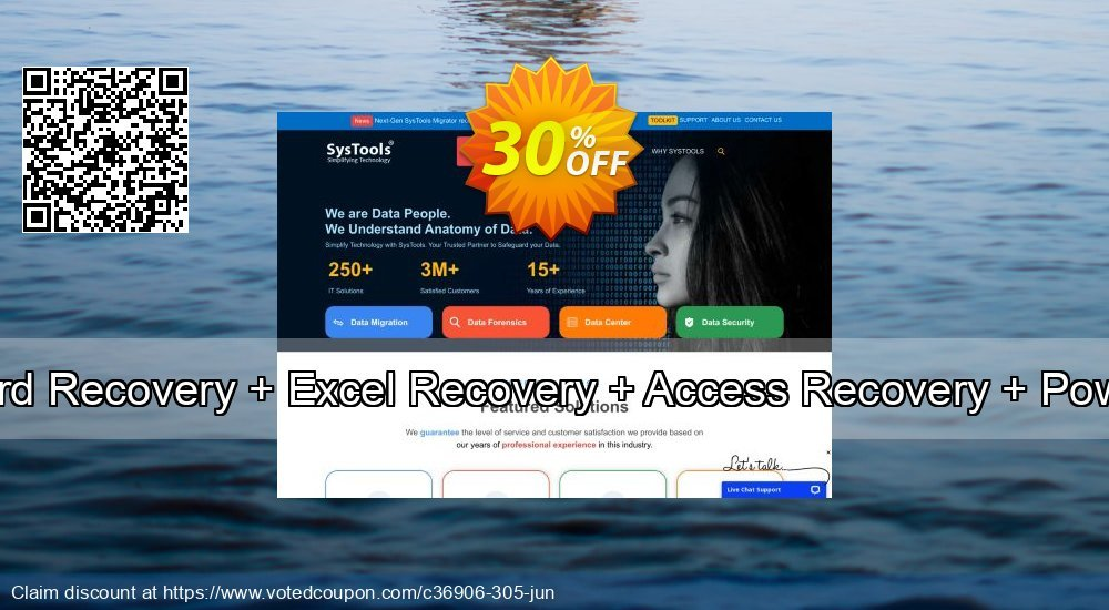 Get 30% OFF Bundle Offer - Word Recovery + Excel Recovery + Access Recovery + PowerPoint Recovery Coupon