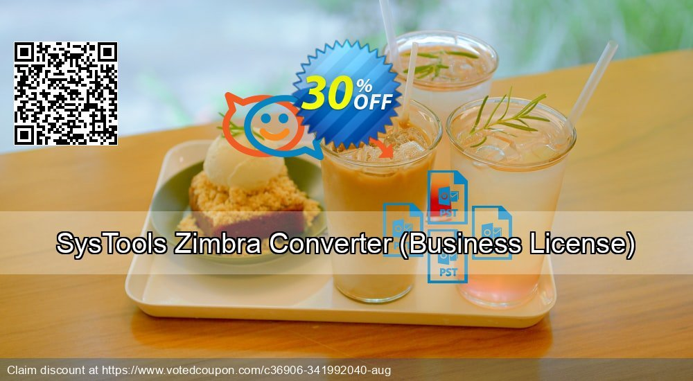 Get 30% OFF SysTools Zimbra Converter, Business License Coupon