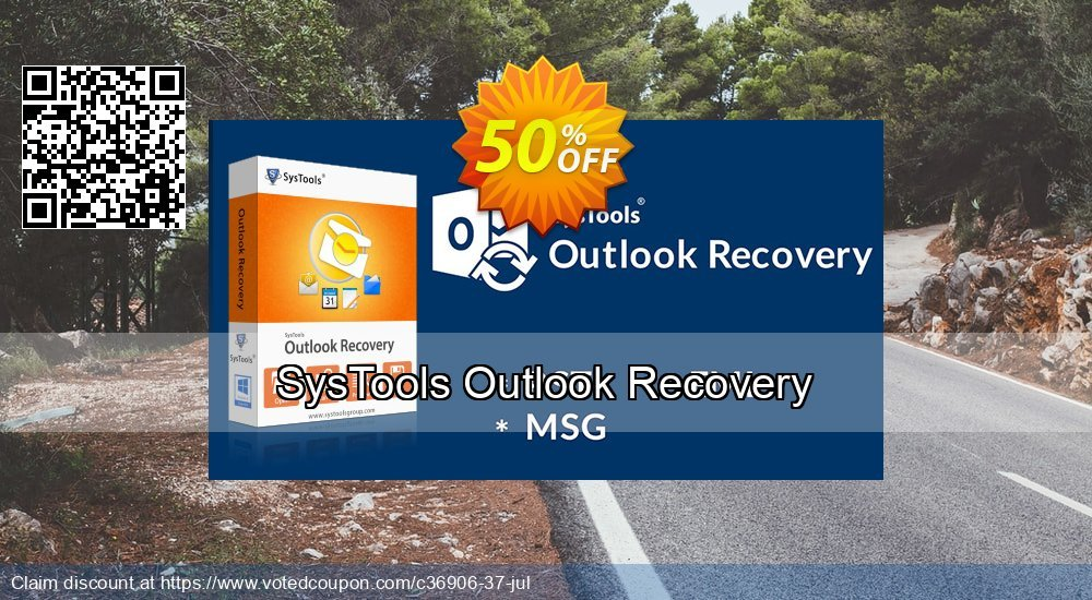 Get 25% OFF SysTools Outlook Recovery Coupon