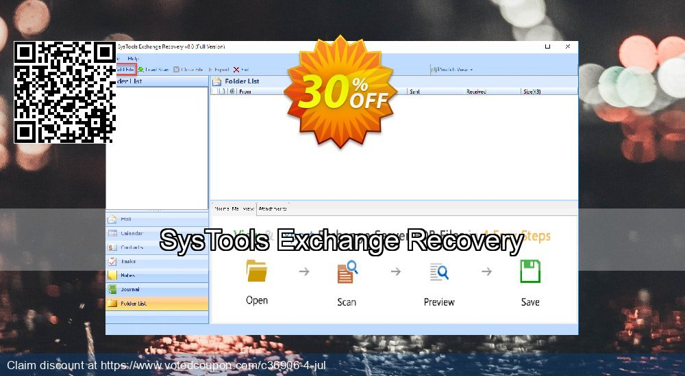 Get 20% OFF SysTools Exchange Recovery Coupon