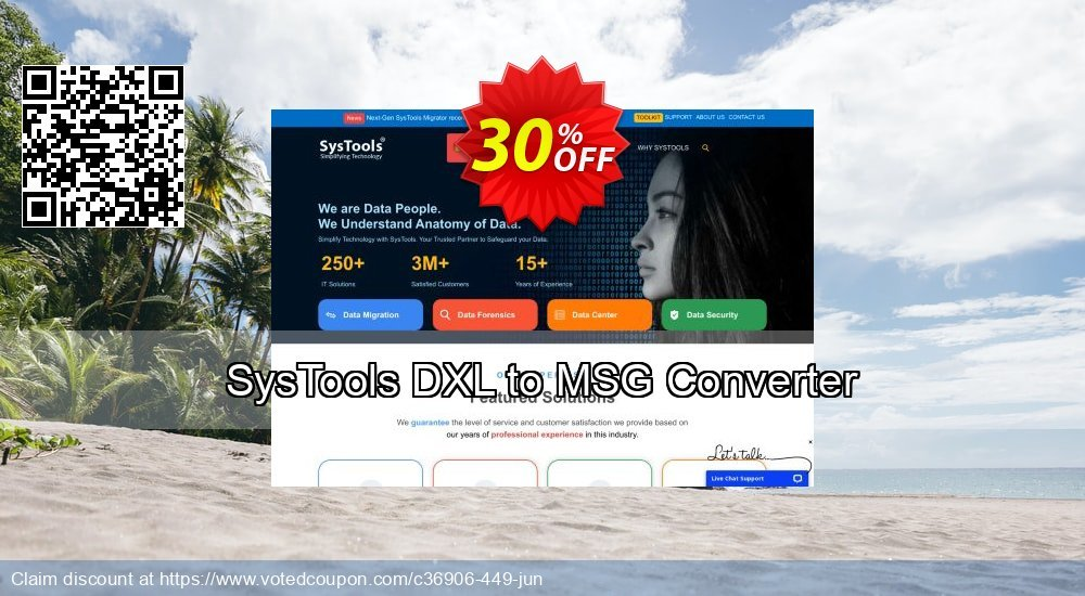 Get 30% OFF SysTools DXL to MSG Converter Coupon