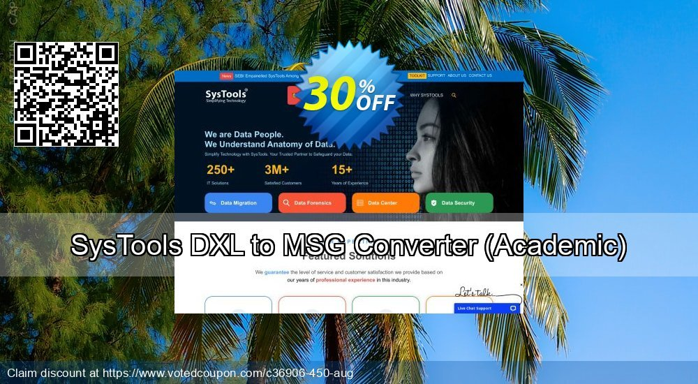 Get 38% OFF SysTools DXL to MSG Converter, Academic Coupon