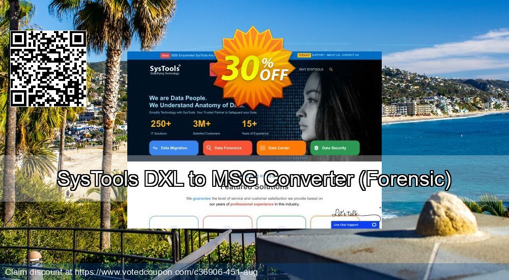 Get 38% OFF SysTools DXL to MSG Converter, Forensic Coupon