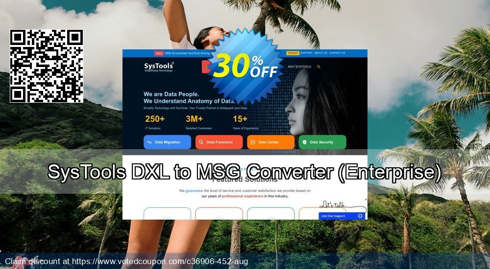 Get 38% OFF SysTools DXL to MSG Converter, Enterprise Coupon
