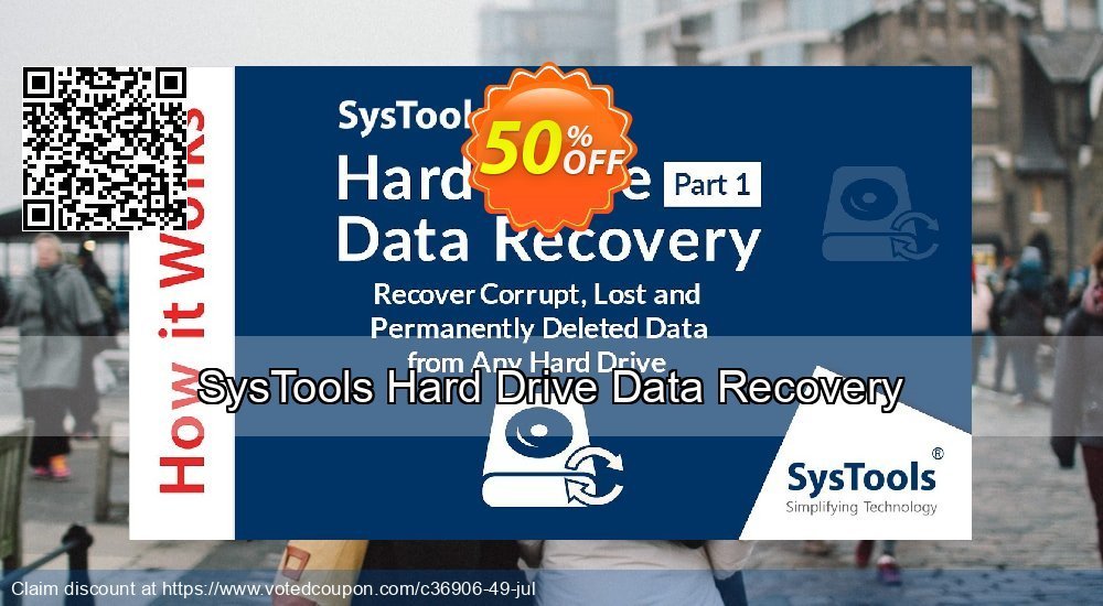 Get 30% OFF SysTools Hard Drive Data Recovery Coupon