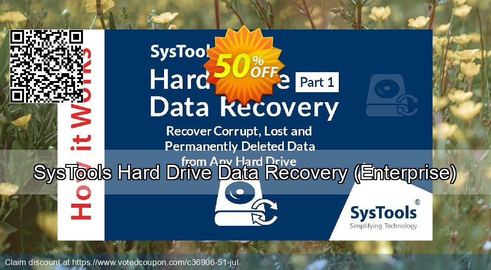 Get 30% OFF SysTools Hard Drive Data Recovery, Enterprise Coupon