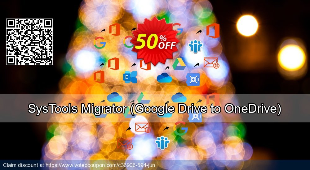 Get 52% OFF SysTools Migrator, Google Drive to OneDrive Coupon